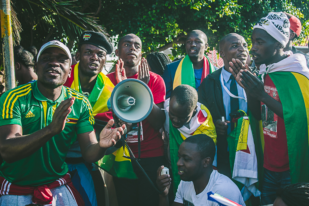 Cape Town #ThisFlag solidarity march PIC: OKAYPlayer.com