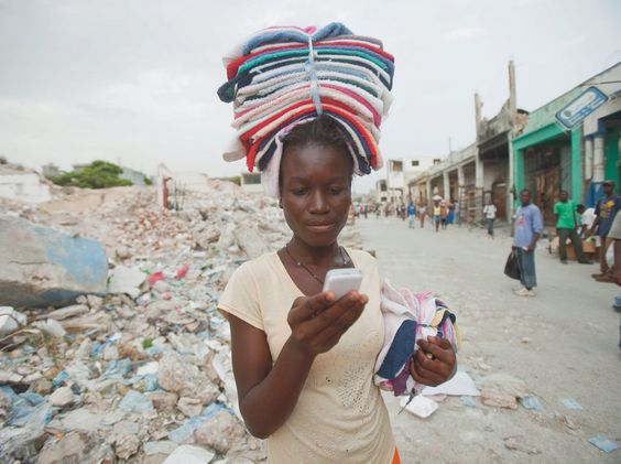 USAID is helping Haiti increase financial inclusion through the advance of mobile money. Photo: USAID